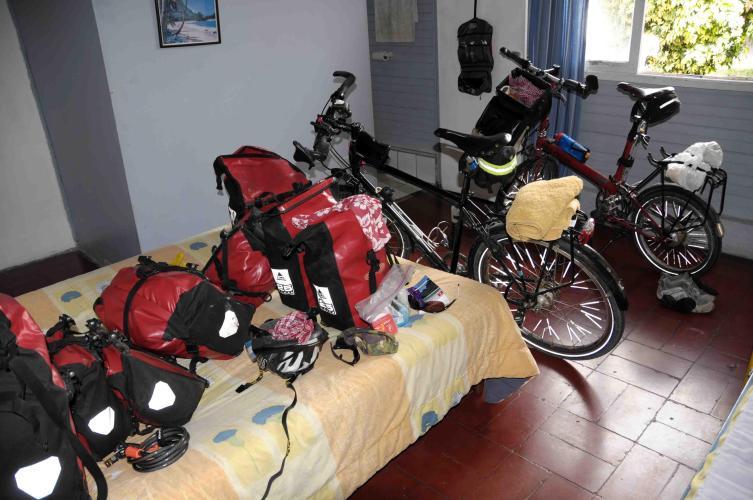 Our room at Mango Verde Hostel