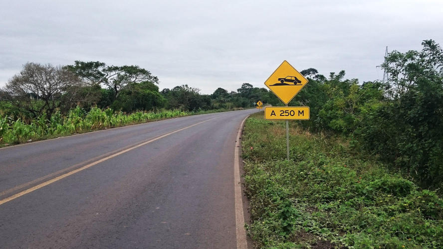 I really don´t like this speed humps,specially when I am going downhill always need to brake!!!!!