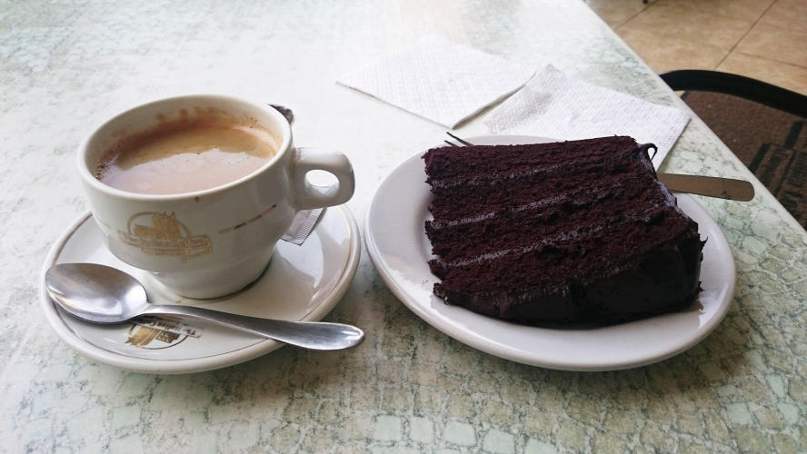 Lovely coffe and choclolat cake