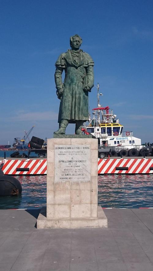 German community monument to Alexander von Humboldt