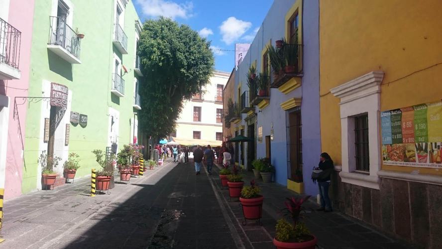 Close to plaza de sapo