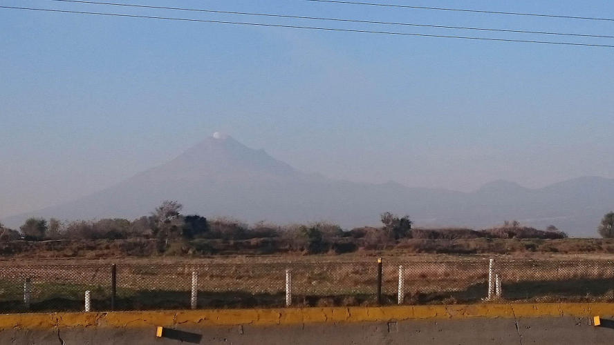Volcan Popocatepetl