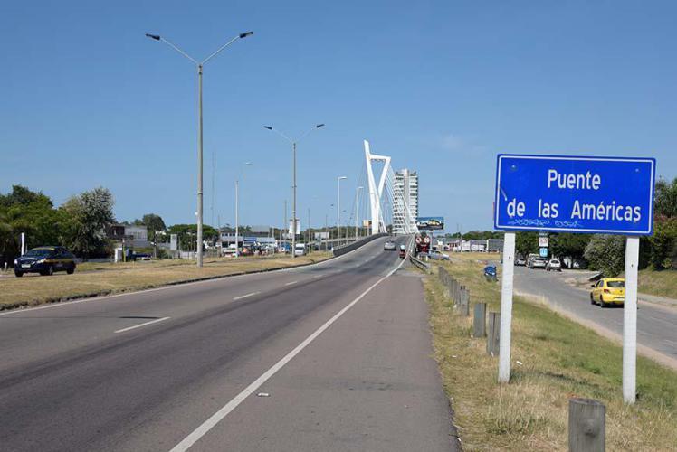Arriving in Montevideo