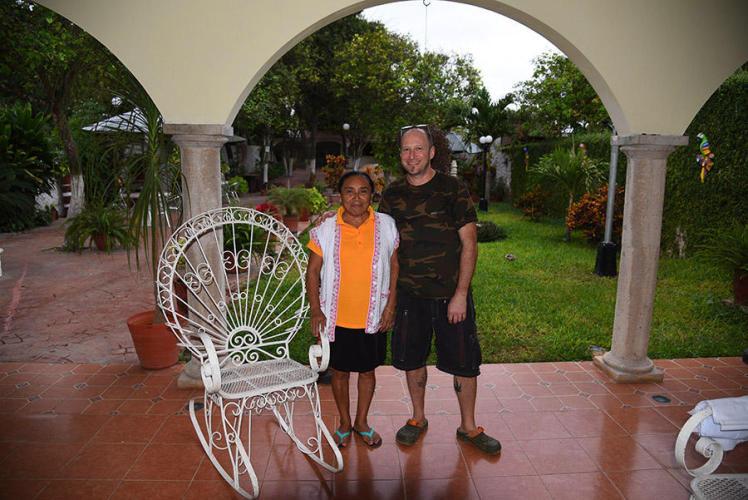 Mrs. Cholina she taught me some maya culture