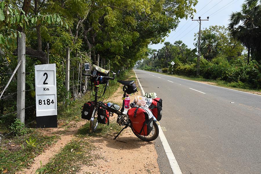Small road to Pasikuda