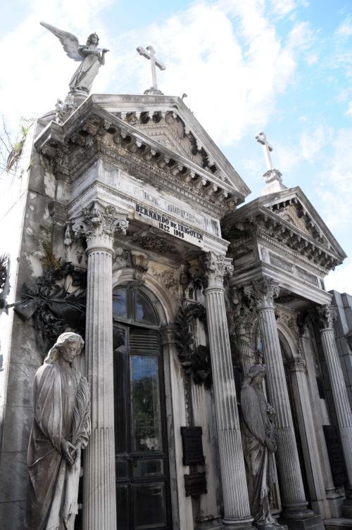 Amazing tombs at Recoleta cemetery