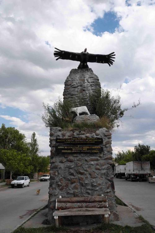 """Las Lajas """"condor monument"""""""