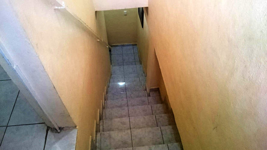 This was the narrow stairs on my posada