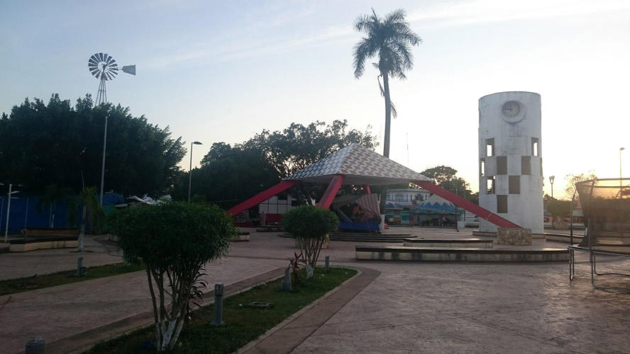 Main plaza Jose Maria morelos