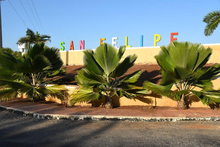 Entry of San Felipe village