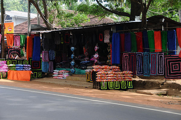 Fashion carpet shop (a must in every Sri Lankan house)