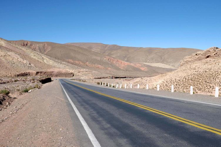 Road 52 to Purmamarca