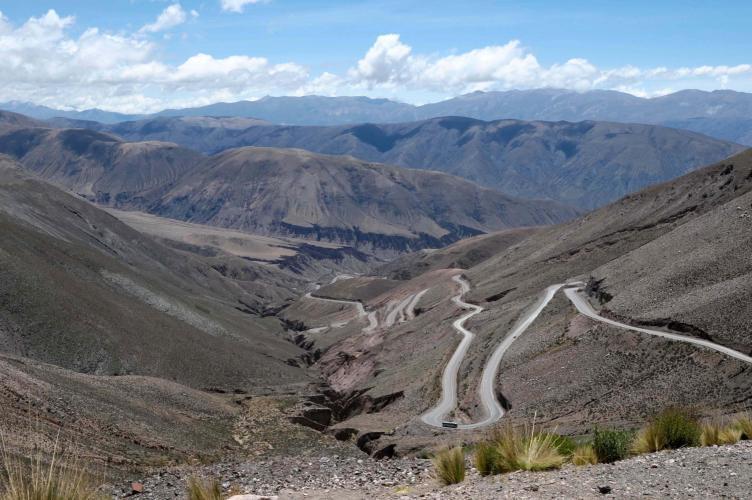 Downhill Cuesta de Lipan