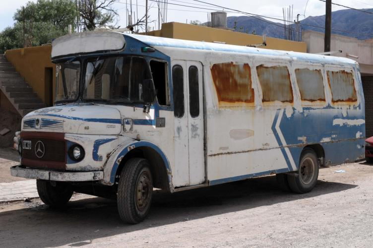 Cool bus in Tilcara