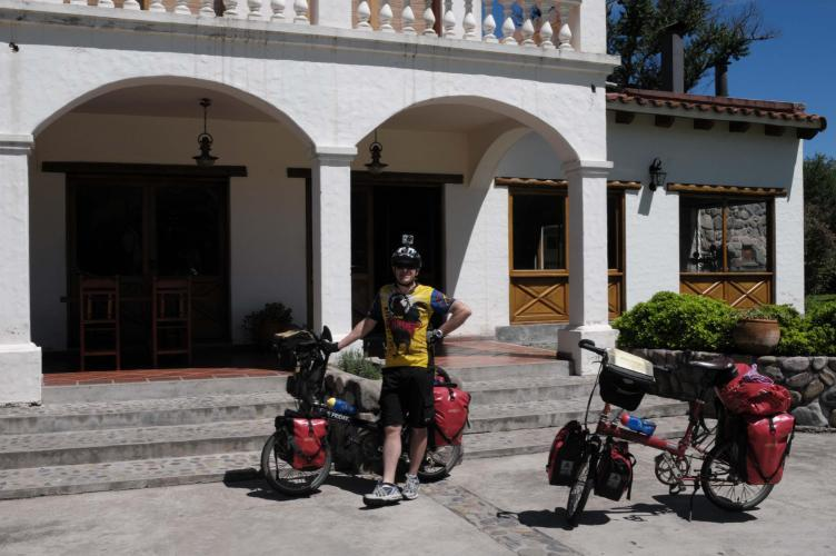 Hostal La Caldera (26km before Salta)