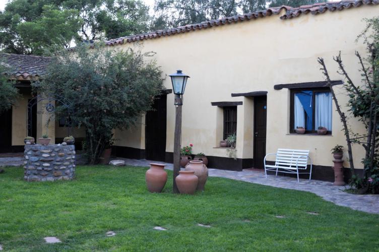 Back yard of our posada