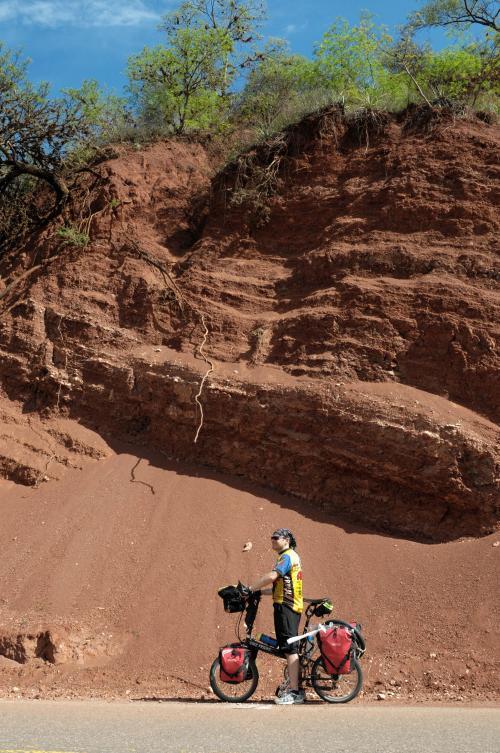 Getting close to Quebrada de las Conchas