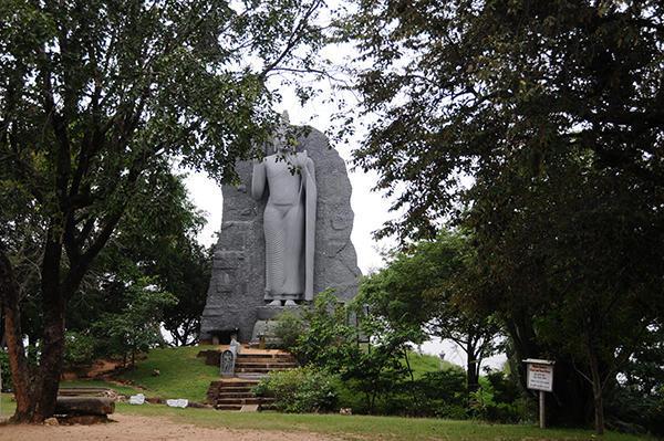 Buddha at Polonnaruwa entrance