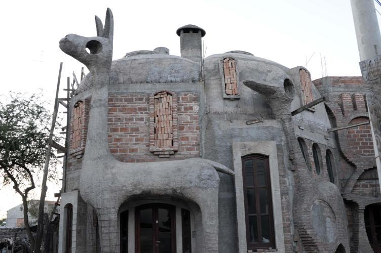 Funny house in Cafayate