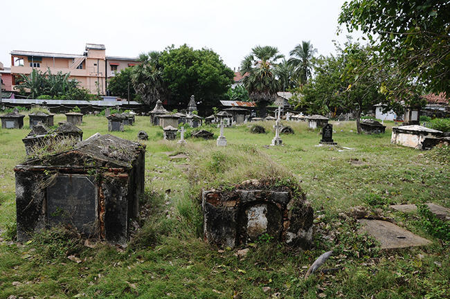 The old cementery