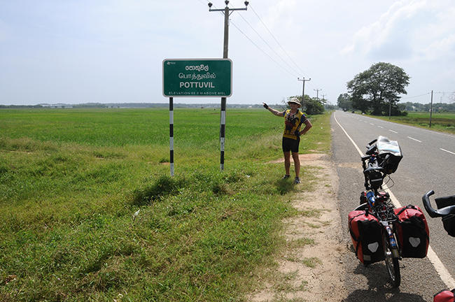 Arriving in Pottuvil, the village 2 kms from Arugam Bay