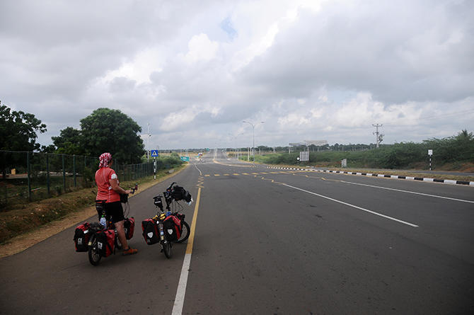 20km new highway with 6 lines!!