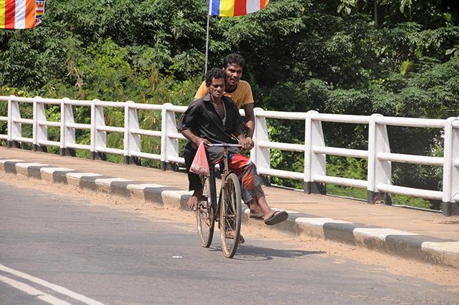 Typical sri lankan transport system
