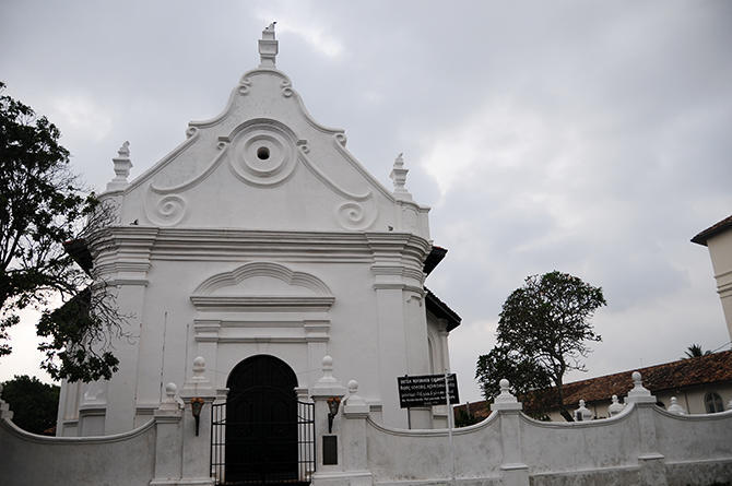Protestant church of Galle