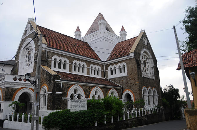Catholic church of Galle