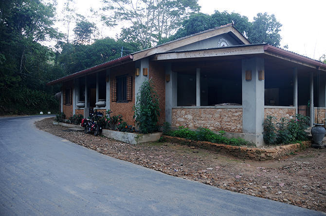 Our guesthouse in Deniyaya