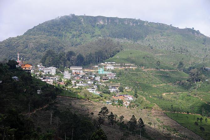 Haputale city
