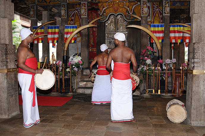 Ceremonial drumming