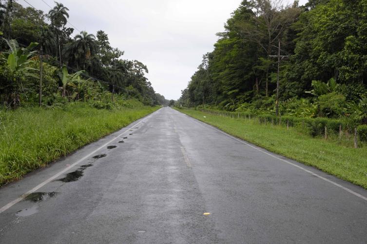 Last km before Puerto Viejo
