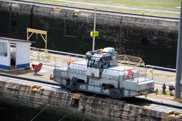 Locomotive to pull the ship