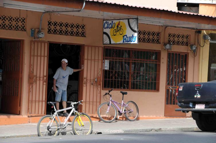 Bike shop in Orotina
