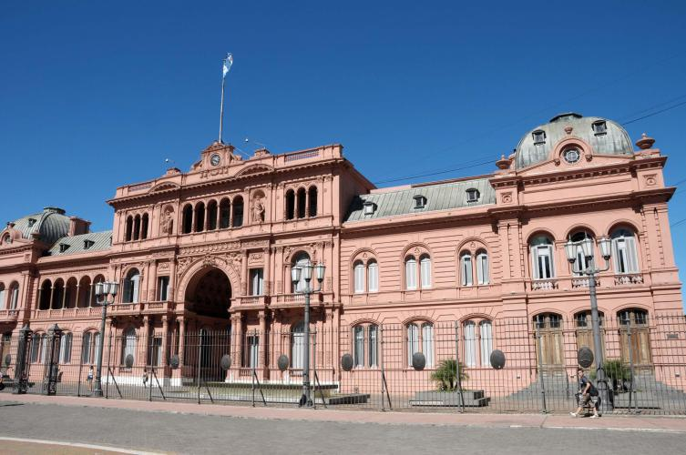 Casa Rosada, government house