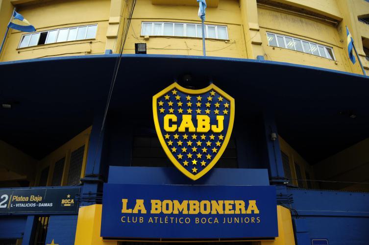 """Boca Juniors stadium """"La Bombonera"""""""