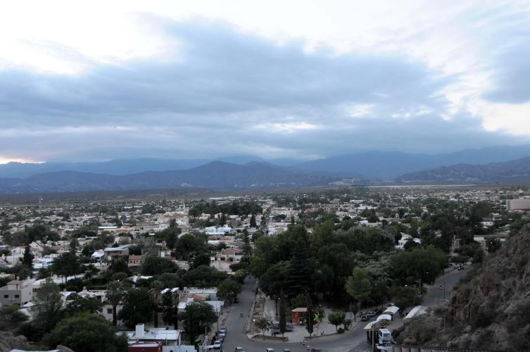 View of Chilecito