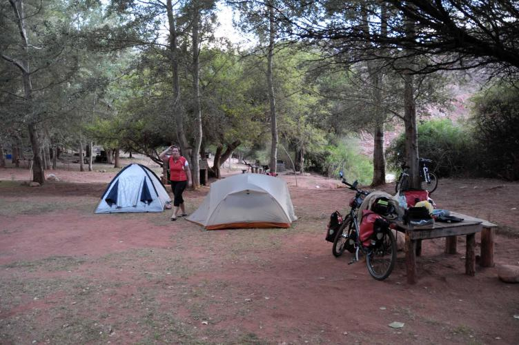 Our camping site