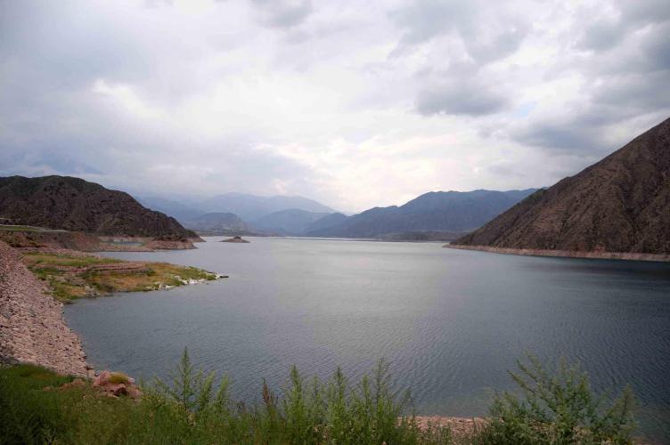 Potrerillo reservoir
