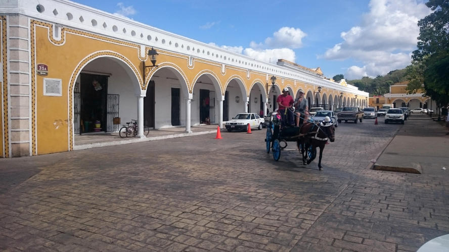Downtown Izamal