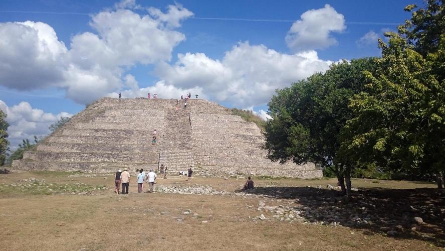Kinich Kak Mo Pyramid
