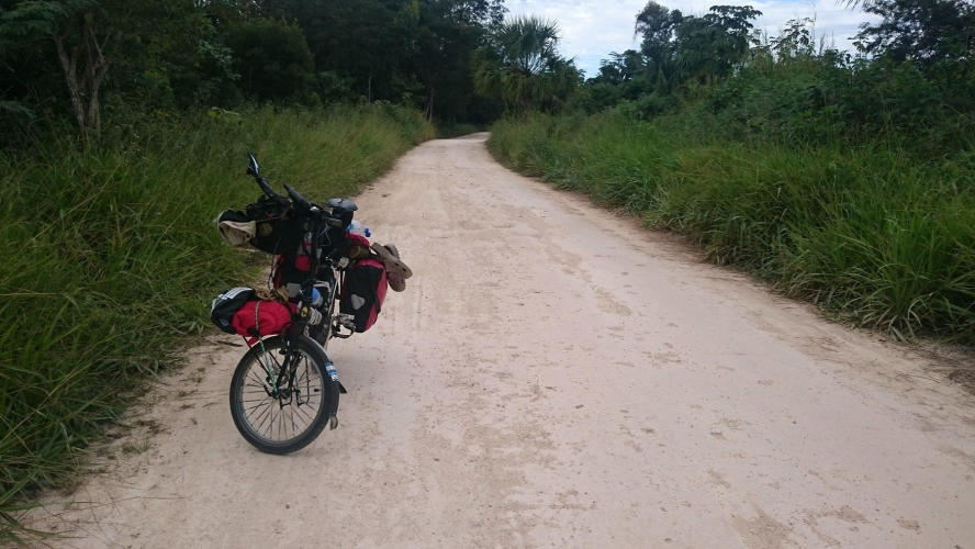 This was the rural road