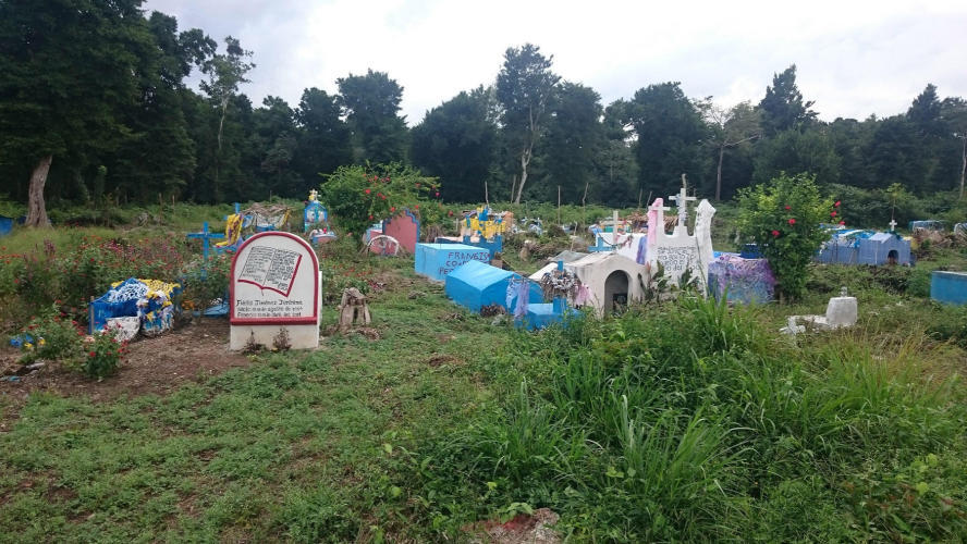 Cemetery on the way