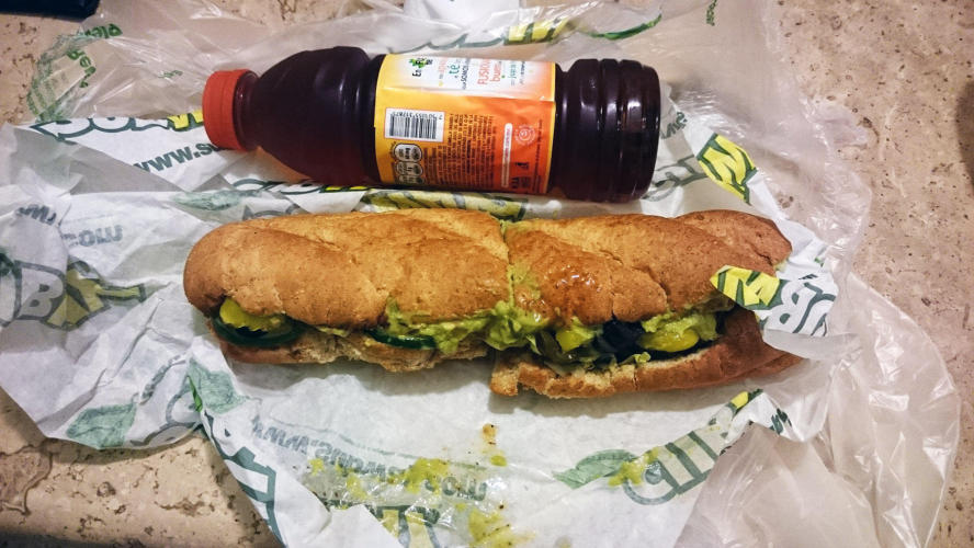 Dinner at Subways