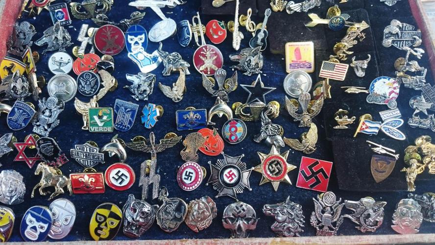 Nazi shit at the flee market