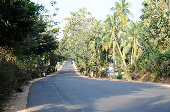 New road to Negombo