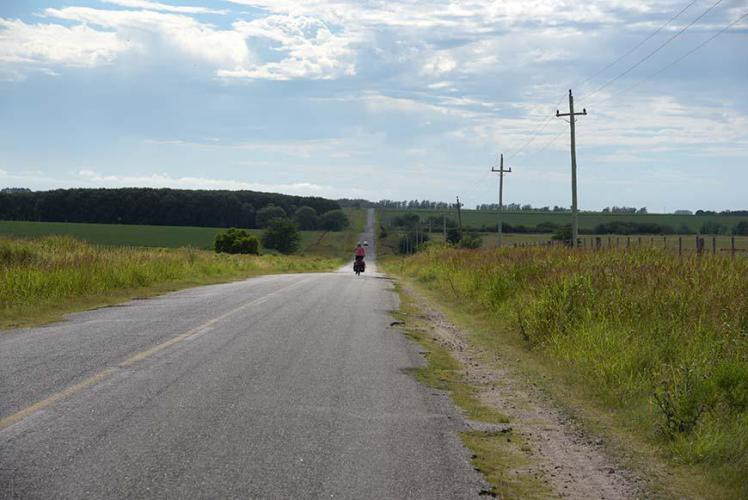 Still the road is paved