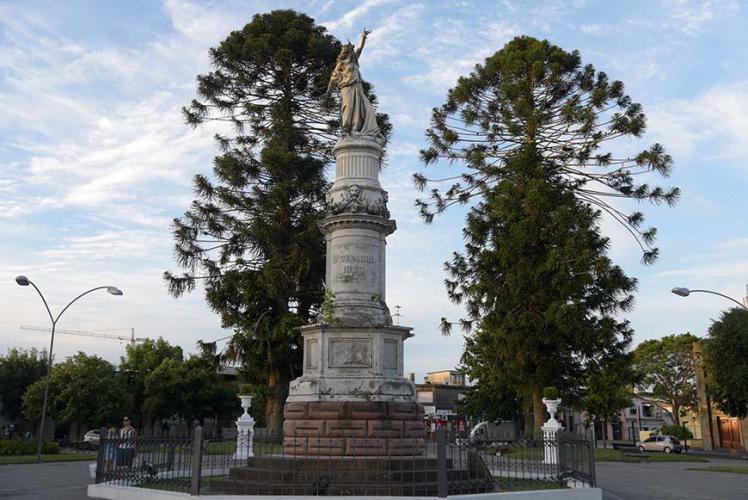 Main square statue