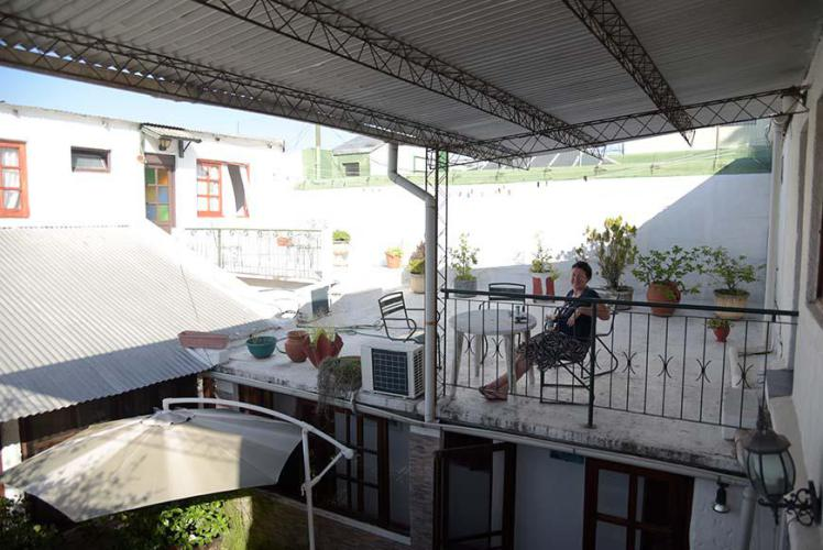 .....room with terrace